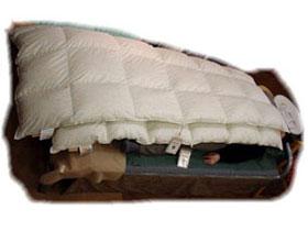 スーパーロングサイズ羽毛布団