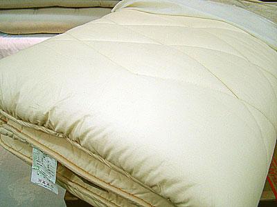 敷布団の表面