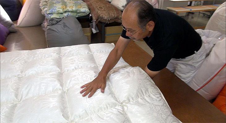 アイダー羽毛布団