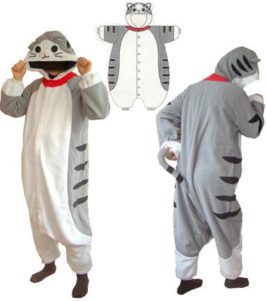 猫の着ぐるみパジャマ